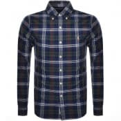 Product Image for Ralph Lauren Long Sleeved Check Shirt Navy